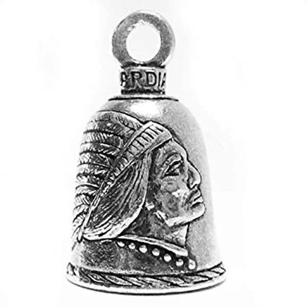 Native American Indian Guardian Bell, Lifestyle Accessories - Fat Skeleton UK