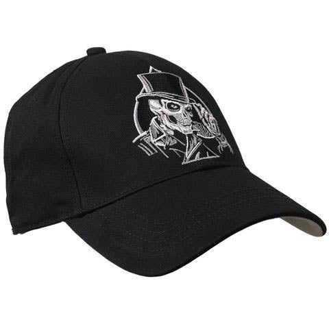 Fat Skeleton ™ Top Hat Skull Baseball Cap
