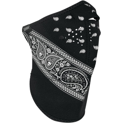 Neo-X Zan Longer Neck 3 Panel Paisley Design Neoprene Mask