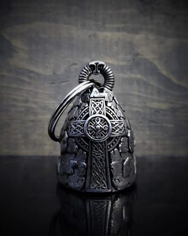 3D Celtic Cross Bell Guardian Gremlin, Lifestyle Accessories - Fat Skeleton UK