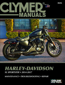 Clymer Manual for Harley Davidson XL Sportster 2014-17, Motorcycle Accessories - Fat Skeleton UK