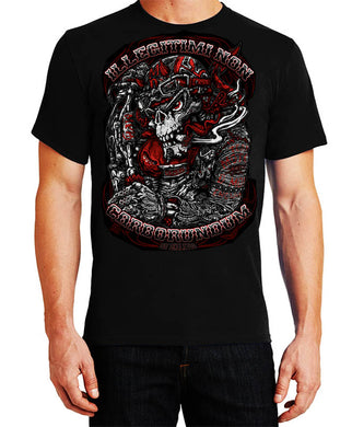 Fat Skeleton Illegitimi Non Carborundum T Shirt, Mens Clothing - Fat Skeleton UK