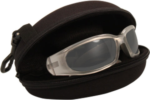 Clam Shell Zipper Protective Case, Eyewear - Fat Skeleton UK