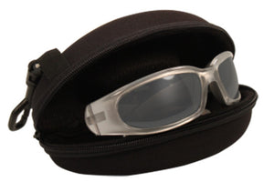 Ultima 24 Foam padded Reactalite Rider Glasses by Fat Skeleton, Eyewear - Fat Skeleton UK