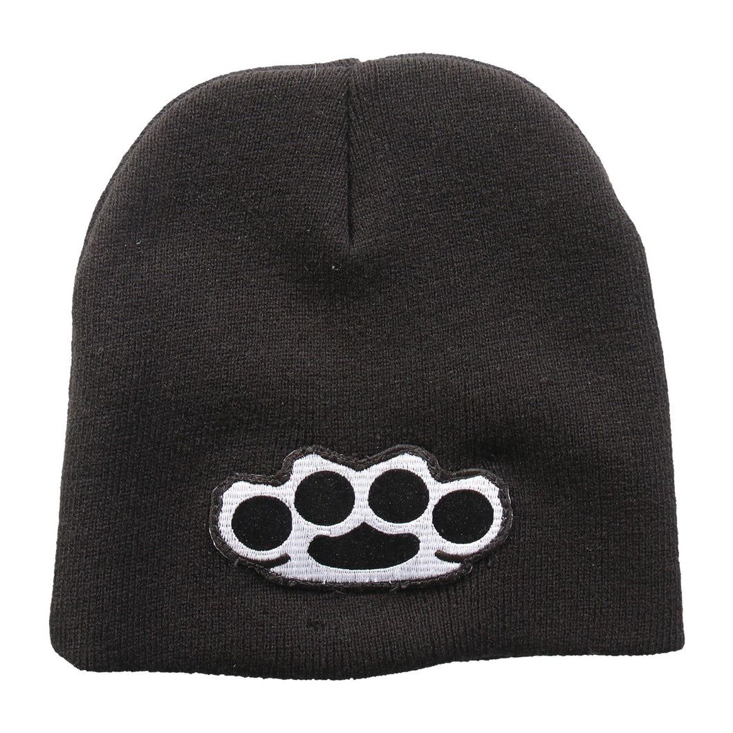 Knuckle Duster Beanie, Clothing Accessories - Fat Skeleton UK