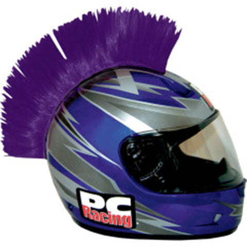 PURPLE Helmet Mohawk