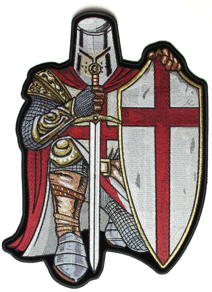 England St George Crusader Large Sew On Patch Fat