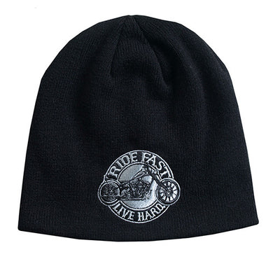Ride Fast Beanie, Clothing Accessories - Fat Skeleton UK