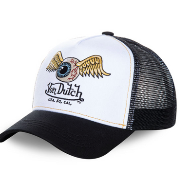 Von Dutch Flying Eye Baseball Trucker Cap