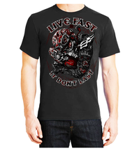 Fat Skeleton Live Fast It Don't Last T Shirt