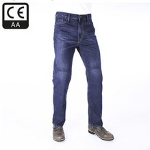 Armourlite™ Mens BLUE Riding Jeans Single Skin protection by Oxford