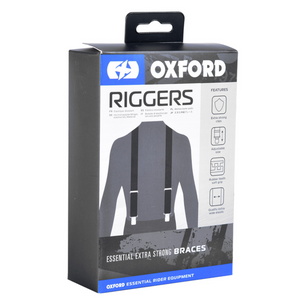 Black Rider Braces Riggers by Oxford Products