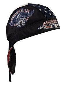 American Ride USA Flag Pre-Tied Zandana - Bandana