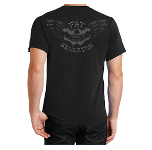 Fat Skeleton Live to Ride T Shirt