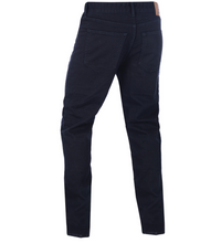 'Barton' KEVLAR®  Lined Black Straight Leg Jeans by Oxford