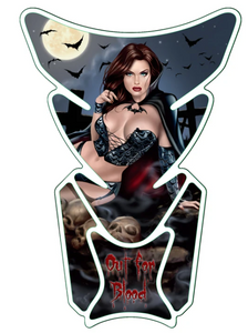 OUT FOR BLOOD PIN UP GIRL LT70112