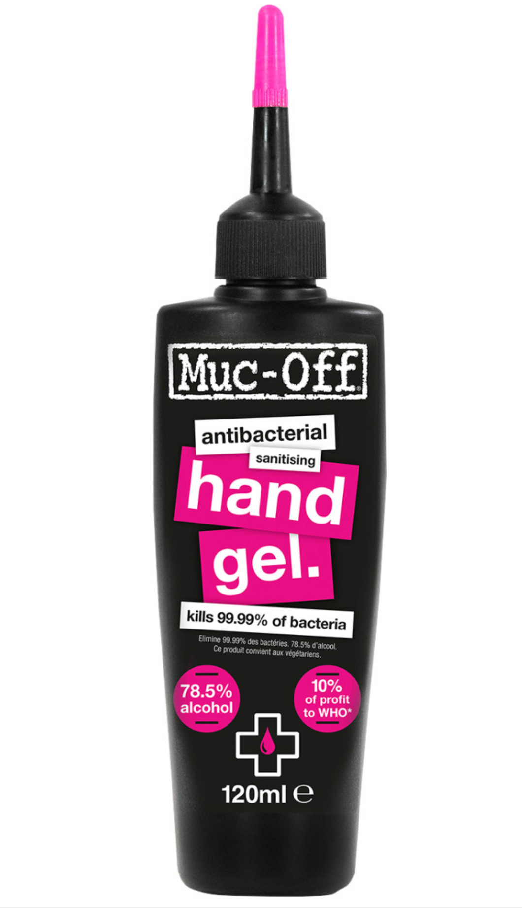 Muc Off Anti Bacterial Hand Gel 120ml