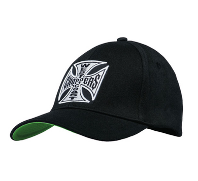 West Coast Choppers Logo  Peak Bill Snap Back Cap Jesse James