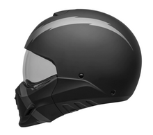 "Bell Broozer Hemet Full / Open Face Matt Grey Black ""ARC"" Cruiser Helmet"