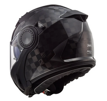 LS2 Vortex C Gloss Carbon Carbon Modular Flip Over Flip Front Full Face / Open Face Motorcycle Helmet