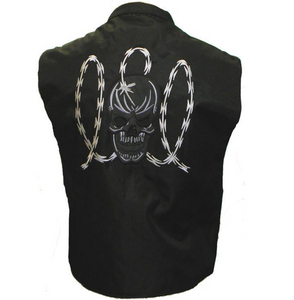 Mesh/Textile Motorcycle Sleeveless Jacket / Cut by Vance Customs