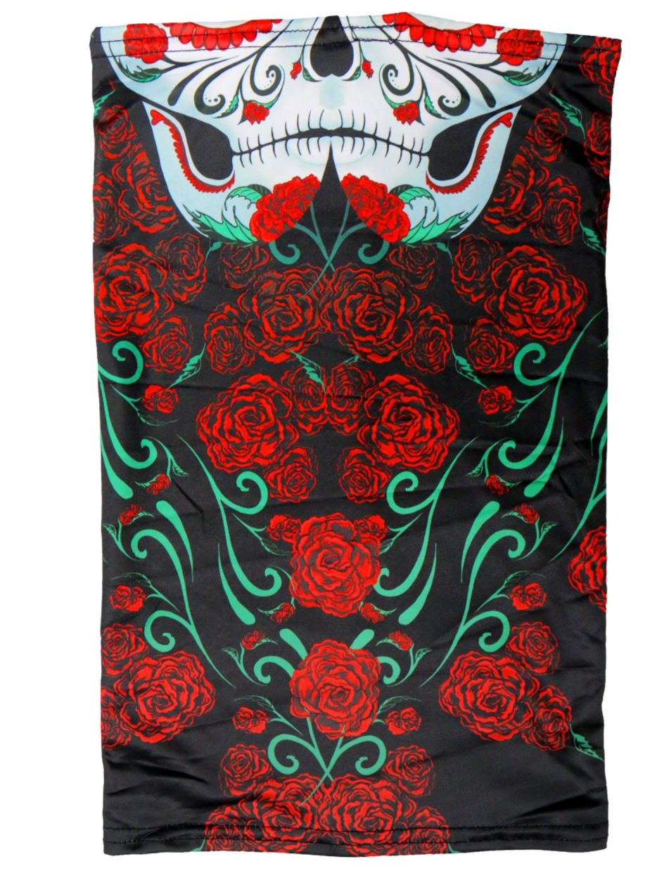 Hot Leathers Sugar Skull Neck Tube