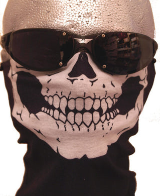 Skull 12 in 1 Face Mask, Neck Warmers & Face Masks - Fat Skeleton UK