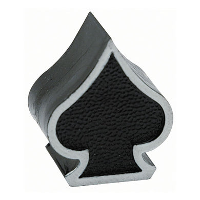 Ace of Spades Valve Caps, Motorcycle Accessories - Fat Skeleton UK