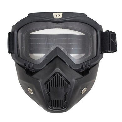 Urban Mask & Goggles for Open Face Helmet, Open Face Helmets - Fat Skeleton UK