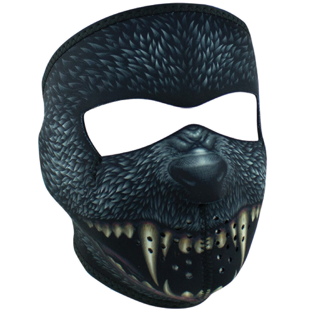 Silver Bullet Vampire Full Face Neoprene Mask, Neck Warmers & Face Masks - Fat Skeleton UK