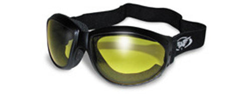 Yellow Lens Goggles, Eyewear - Fat Skeleton UK