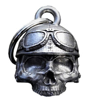 Motorcycle Helmet Skull Bell Guardian Gremlin, Lifestyle Accessories - Fat Skeleton UK