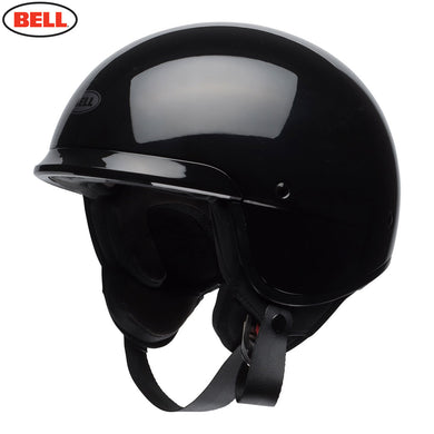 Bell Cruiser Scout Air Low Profile Gloss Black ECE approved Open Face Helmet, Open Face Helmets - Fat Skeleton UK