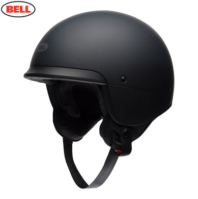 Bell Cruiser Scout Air Low Profile Matt Black ECE approved Open Face Helmet, Open Face Helmets - Fat Skeleton UK