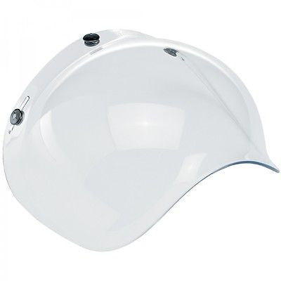 Biltwell Old School Clear Visor for Open face Helmets, Helmet - Fat Skeleton UK