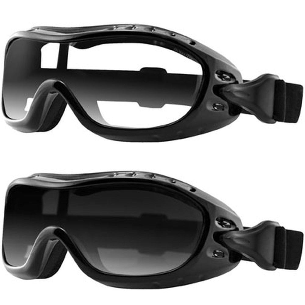 Bobster Night Hawk Goggles - fits over prescription glasses, Eyewear - Fat Skeleton UK