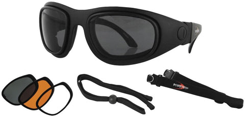 Bobster Street Kit Interchangeable Lens Sunglasses