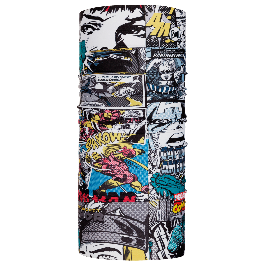 4 Way Stretch ORIGINAL BUFF Superheroes Multi, Neck Warmers & Face Masks - Fat Skeleton UK