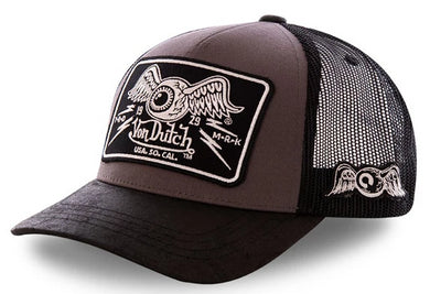 Von Dutch Classic Logo Baseball Trucker Cap, Clothing Accessories - Fat Skeleton UK