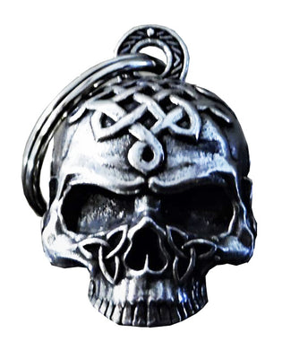 3D Celtic Skull Bell Guardian Gremlin, Lifestyle Accessories - Fat Skeleton UK