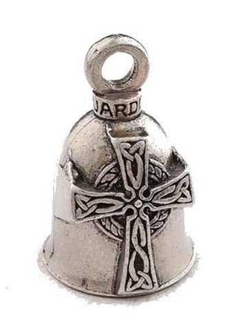 Celtic Cross Guardian Angel Bell, Lifestyle Accessories - Fat Skeleton UK