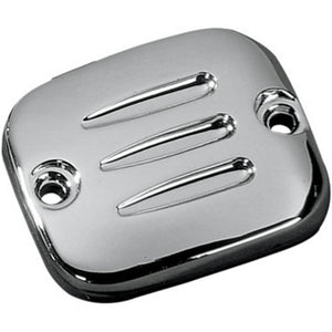 Drag Specialities Ridge Finish Chrome Master Cylinder (Front Brake) Cover, Motorcycle Accessories - Fat Skeleton UK