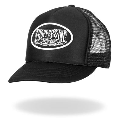 Billy Lane Choppers Inc. logo Truckers Cap, Clothing Accessories - Fat Skeleton UK