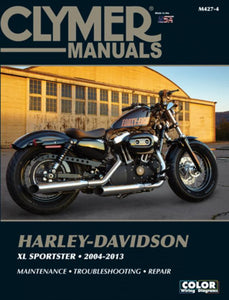 Clymer Manual for Harley Davidson XL Sportster 2004-13, Motorcycle Accessories - Fat Skeleton UK
