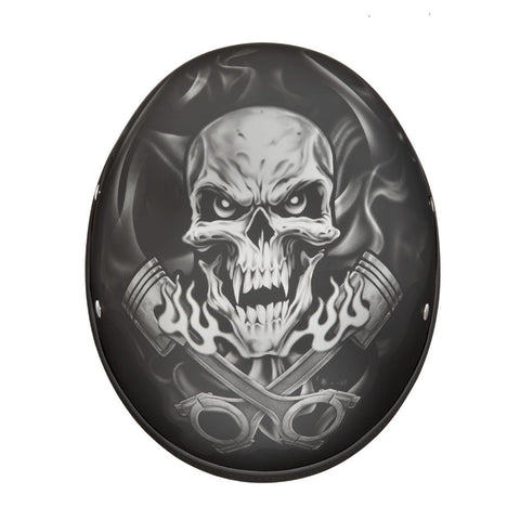 Piston Skull Sons of Anarchy Style Novelty Helmet