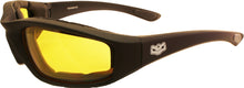 Yellow Lens Fat Skeleton Daytona EVA Foam Padded, Eyewear - Fat Skeleton UK