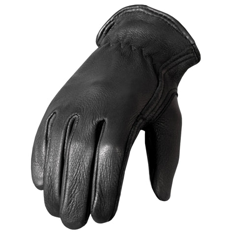 Soft Deerskin Leather Cruiser Gloves
