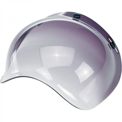 Biltwell Old School Gradient Smoke Visor for Open face Helmets, Helmet Visors - Fat Skeleton UK