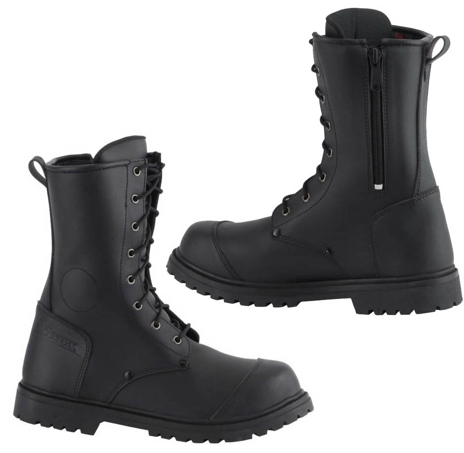 Commando Water Proof Riding Boots, Motorcycle Boots - Fat Skeleton UK