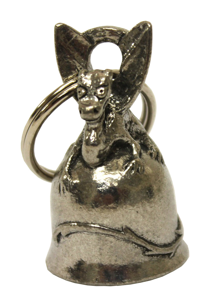 Small Dragon Guardian Angel Bell, Lifestyle Accessories - Fat Skeleton UK